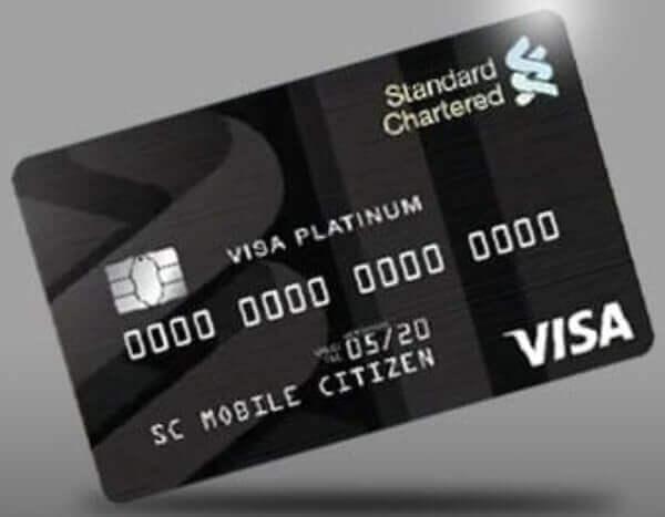 credit card in Nigeria - platinum