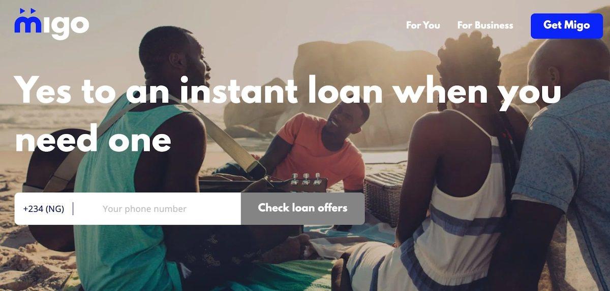 Loan app in Nigeria - Migo