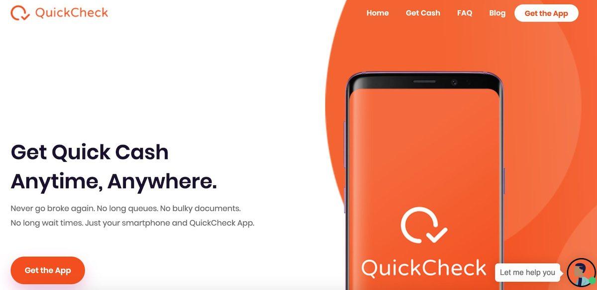 Loan app in Nigeria - Quick check