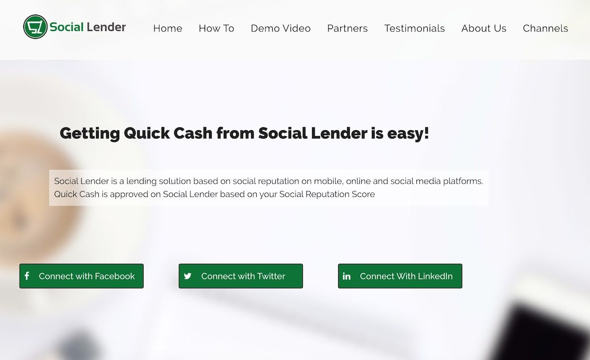 Loan app in Nigeria - Social Lender