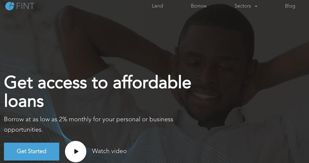 Loan app in Nigeria - fint