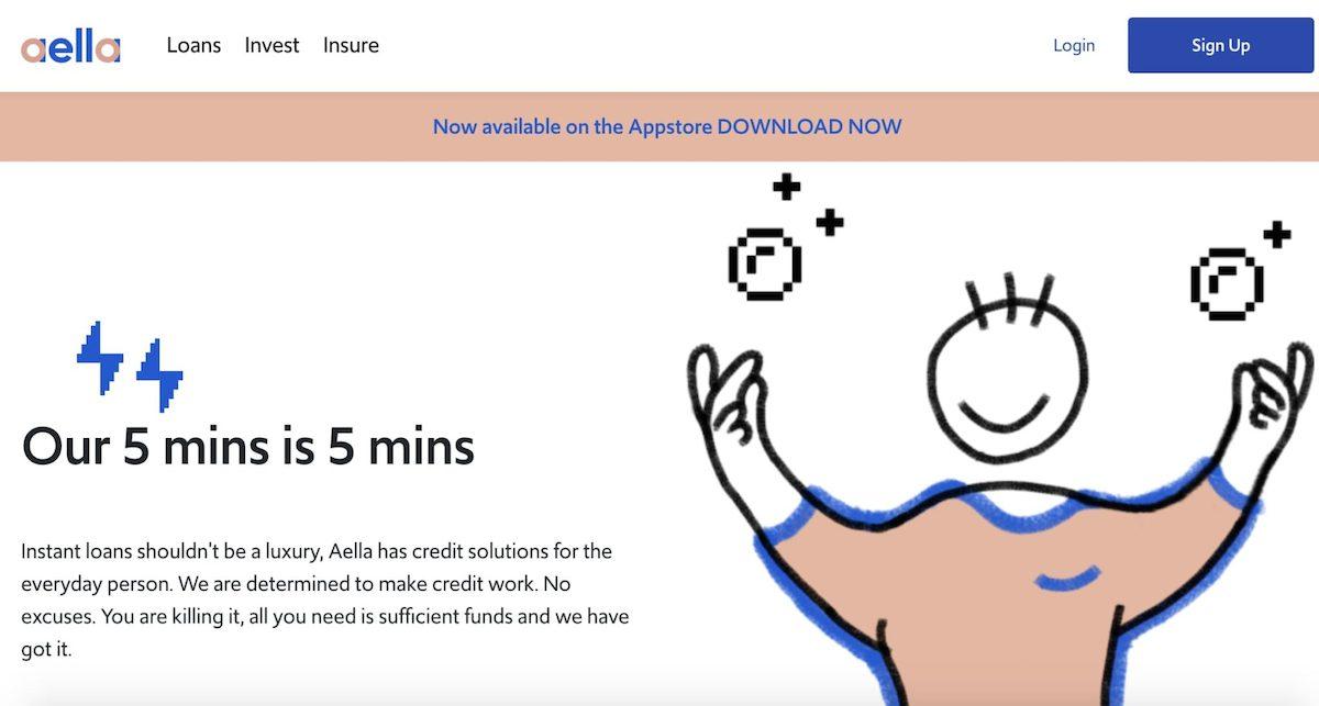 Loan app in Nigeria - Aella credit