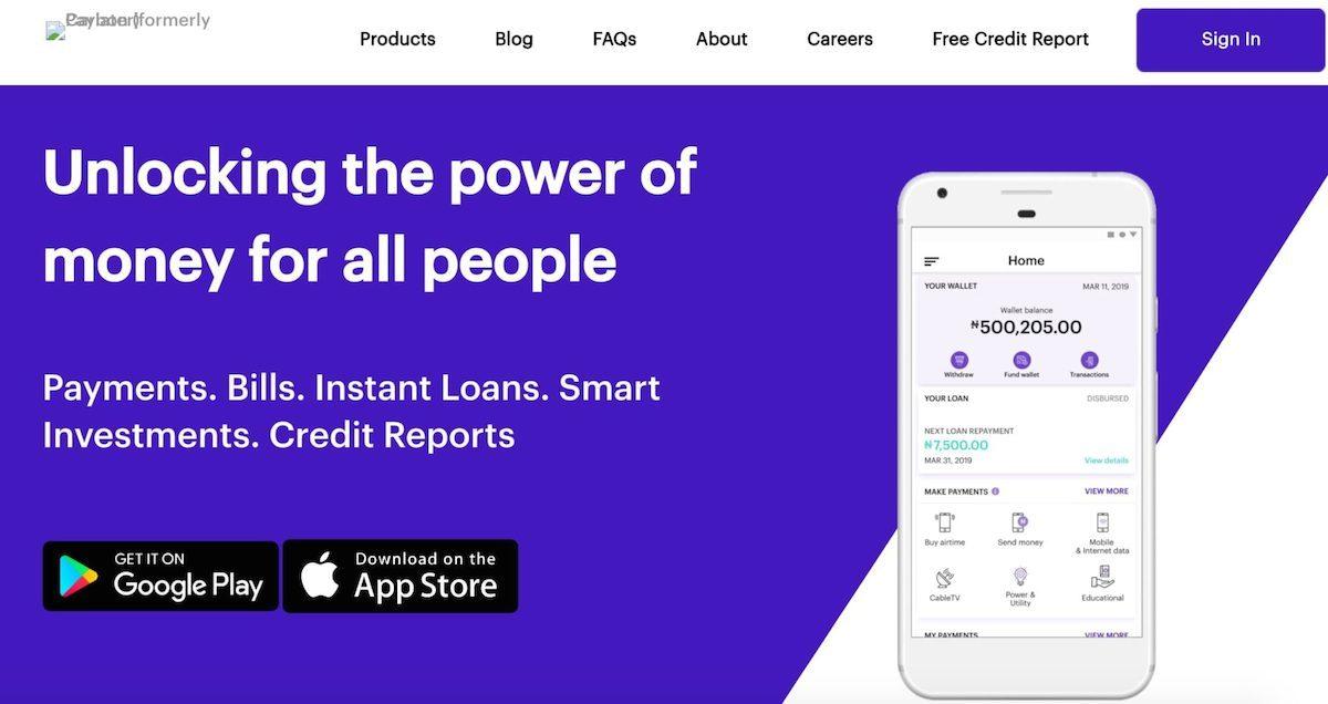 Loan app in Nigeria - Carbon