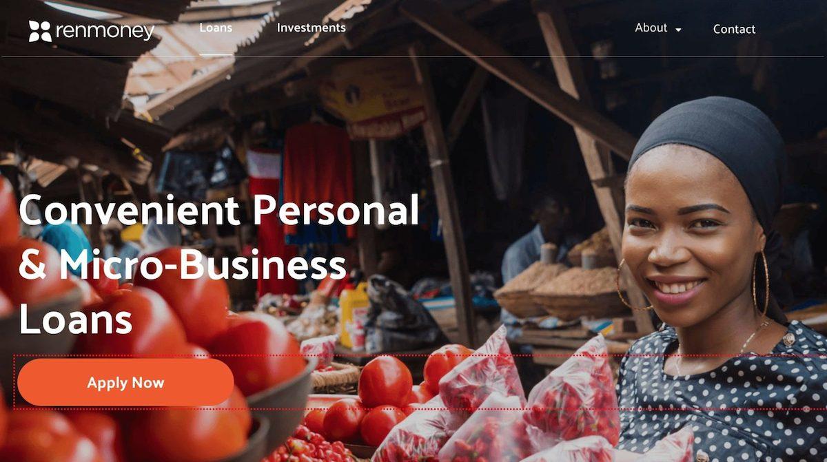 Loan app in Nigeria - Renmoney