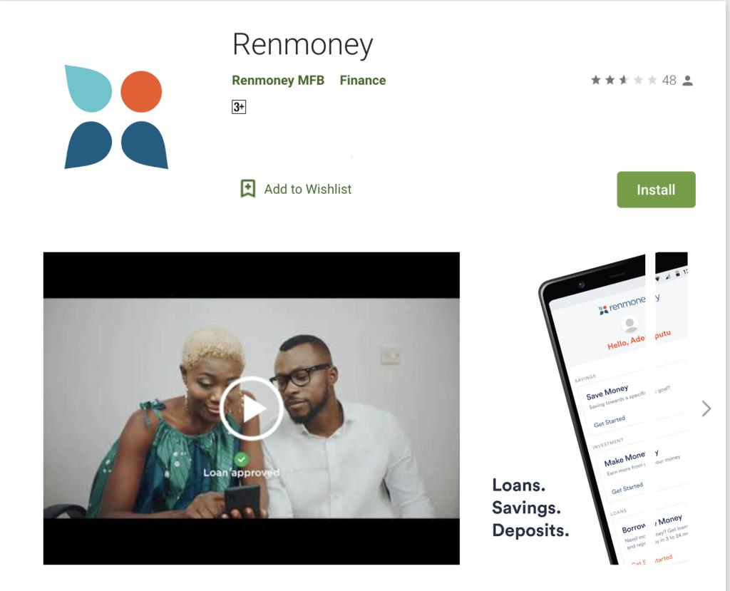 Renmoney app