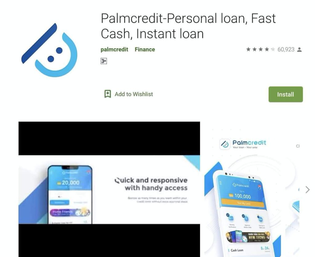 palmcredit loan app