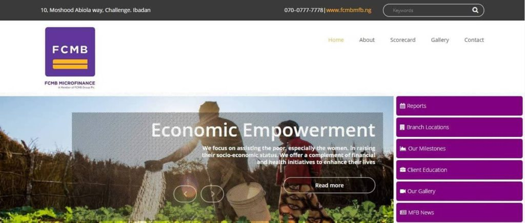 FCMB Micro finance