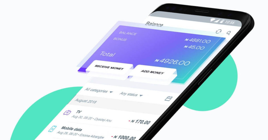 Opay loan app interface