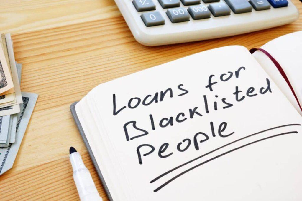 blacklisted loans