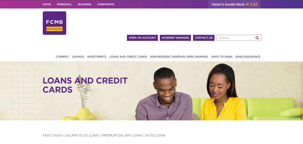 How to get a loan from FCMB